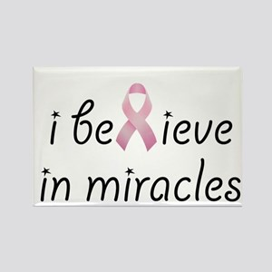 i believe in miracles Rectangle Magnet
