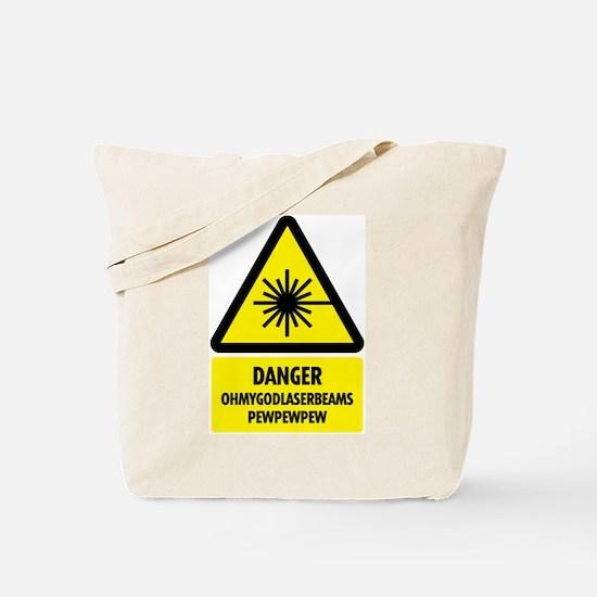 Laser Beams! Tote Bag