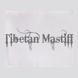 Tibetan Mastiff Throw Blanket