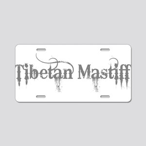 Tibetan Mastiff Aluminum License Plate