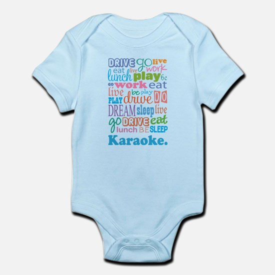 Karaoke Infant Bodysuit