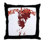 Marie Laveau Throw Pillow