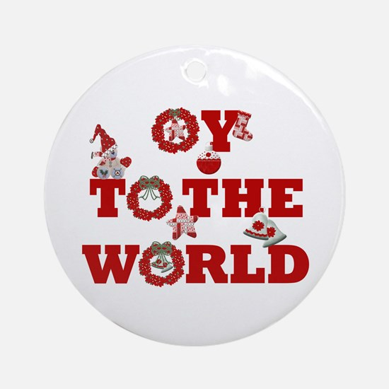 Oy To The World Keepsake Ornament