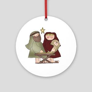 The Nativity Christmas Tree Ornament