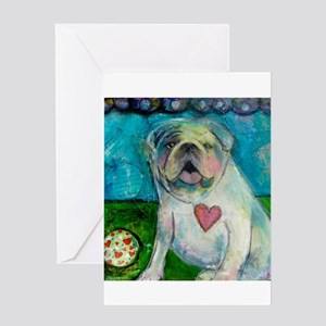 LoveABull Greeting Card