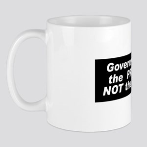 """Not the Solution"" Mug"