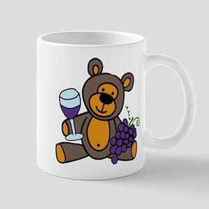 Wine Teddy Bear Mug