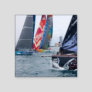 """Miami Volvo Ocean Race Square Sticker 3"""" x 3"""""""
