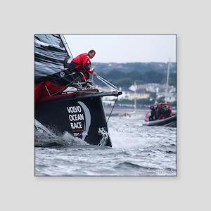 "Volvo Ocean Race Square Sticker 3"" x 3"""