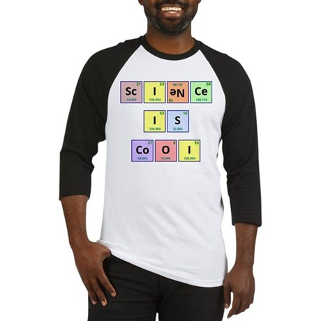 Science is Cool Baseball Jersey