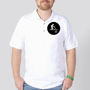 Metal Detecting Golf Shirt