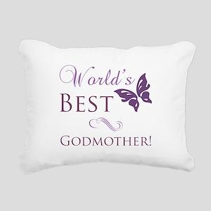 World's Best Godmother Rectangular Canvas Pillow