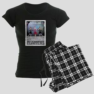 Fabulous Flappers Women's Dark Pajamas