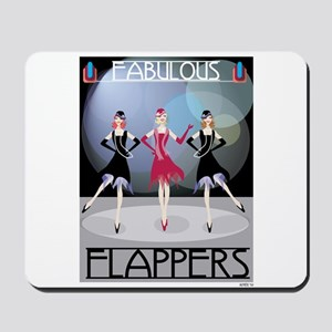 Fabulous Flappers Mousepad