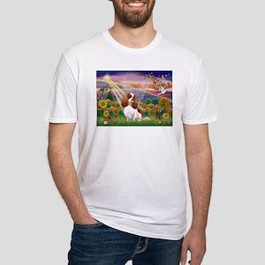 Autumn Angel & Blenheim Fitted T-Shirt
