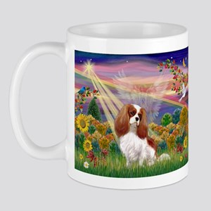 Autumn Angel & Blenheim Mug