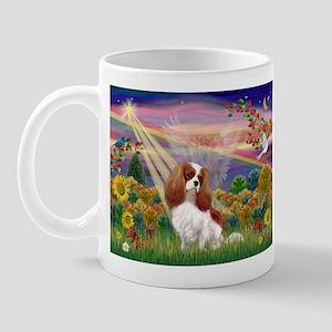 Autumn Angel & Blenheim Mug