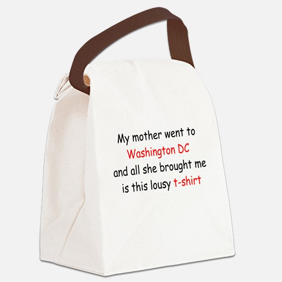 stdt_mother.png Canvas Lunch Bag