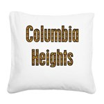Columbia Heights Square Canvas Pillow