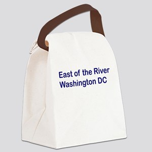 East of the River Canvas Lunch Bag