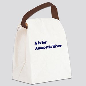 anacostia_stdt_png Canvas Lunch Bag