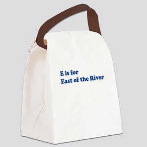 eastriver_alpha_trans Canvas Lunch Bag