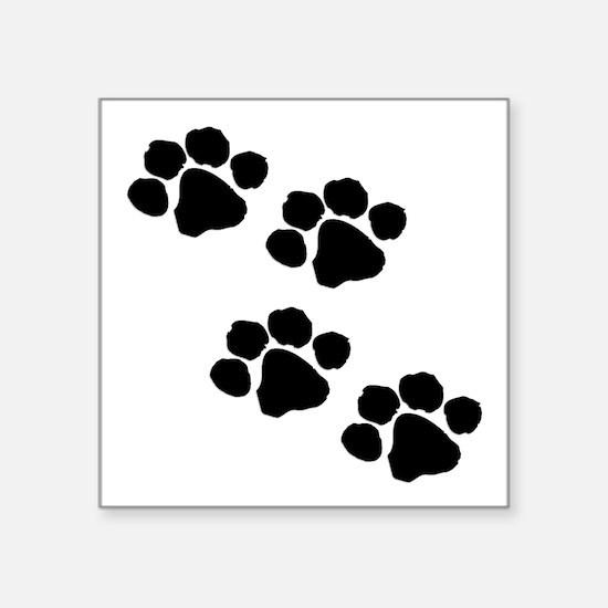 Pet Paw Prints Sticker