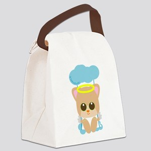 hamster angel Canvas Lunch Bag
