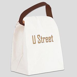 U Street std t png Canvas Lunch Bag