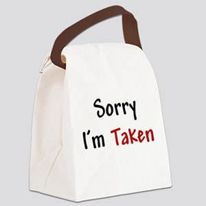 stdt_taken Canvas Lunch Bag