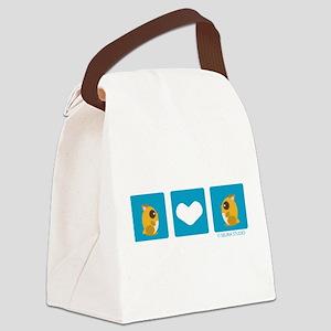 hamster+hamster Canvas Lunch Bag