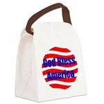 godbless circle Canvas Lunch Bag