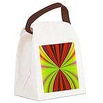 redmulti_square001 Canvas Lunch Bag
