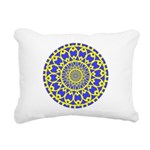 yellow_wheels_png Rectangular Canvas Pillow