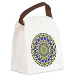 yellow_wheels_png Canvas Lunch Bag
