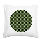 redgeranium_square Square Canvas Pillow