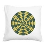 yellow_green001_square2 Square Canvas Pillow