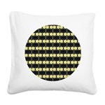 yellow_flower_square Square Canvas Pillow