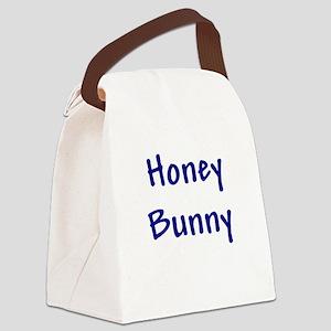 honeybunny_blue Canvas Lunch Bag