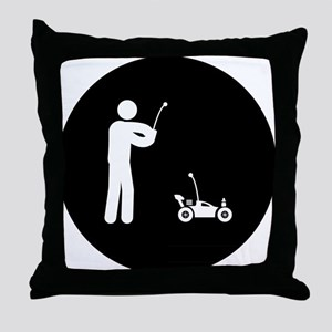 RC Car Throw Pillow