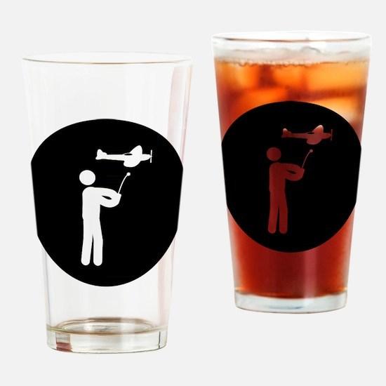 RC Plane Drinking Glass