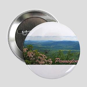 """Pennsylvania Mountain Laurel 2.25"""" Button"""