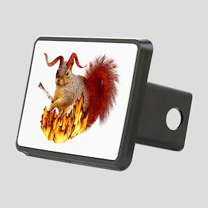Krampus Squirrel Rectangular Hitch Cover
