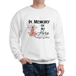 In Memory Uterine Cancer Sweatshirt