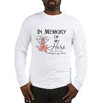 In Memory Uterine Cancer Long Sleeve T-Shirt