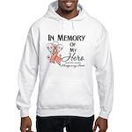 In Memory Uterine Cancer Hooded Sweatshirt