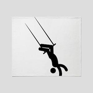 Trapeze Throw Blanket