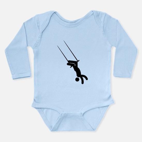 Trapeze Long Sleeve Infant Bodysuit