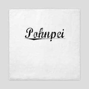 Pohnpei, Aged, Queen Duvet