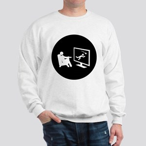 TV Watching Sweatshirt
